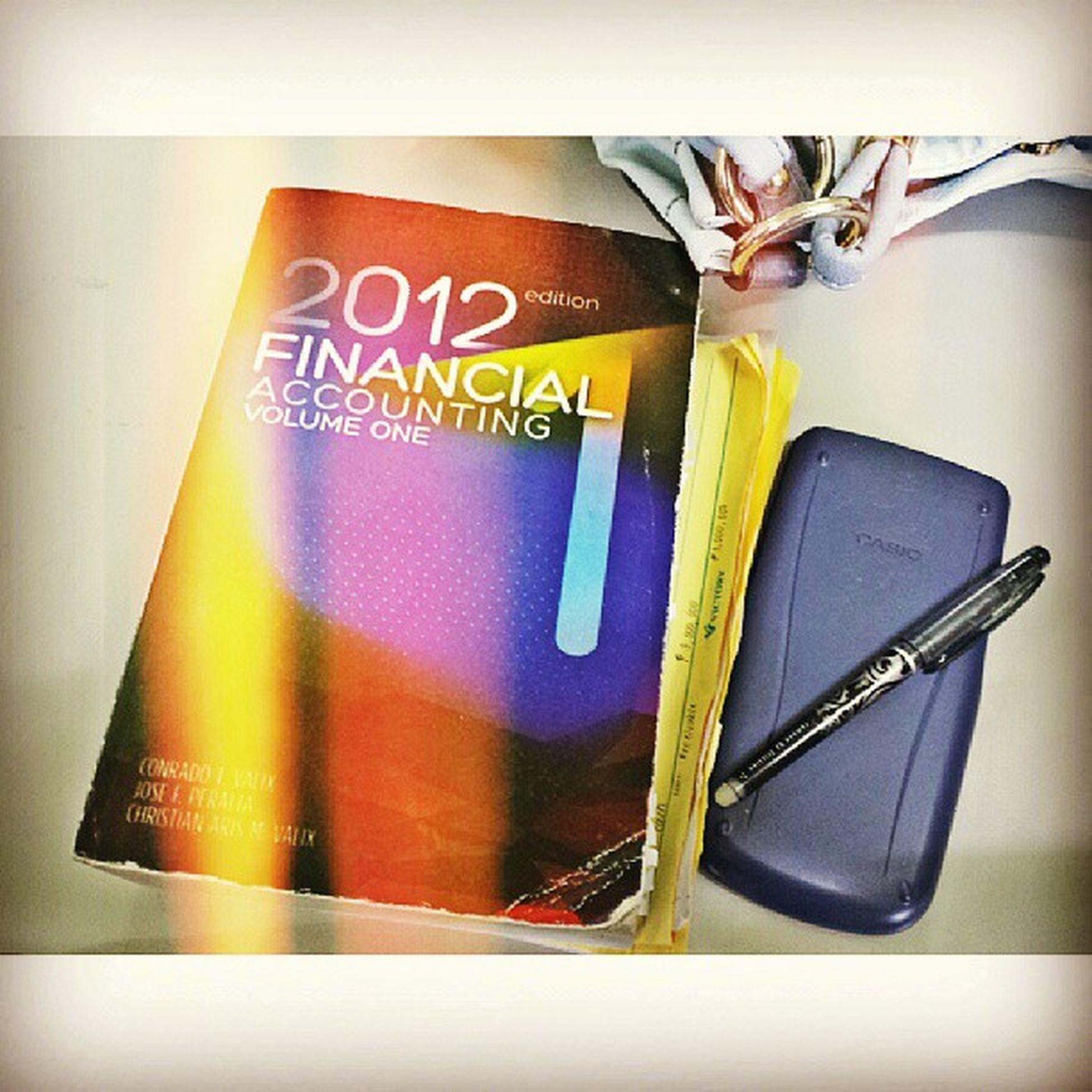 We meet again. Hohoho :)))) Financialaccounting