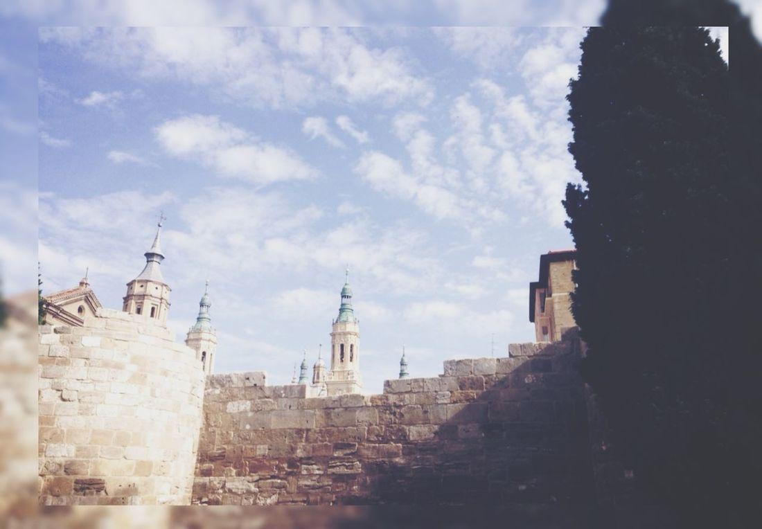 Murallas Romanas Zaragoza Spain♥