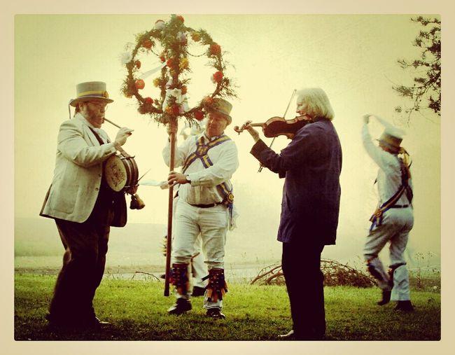 the Kings Morris of Kings Lynn #morrisdancers #mayday Celebration