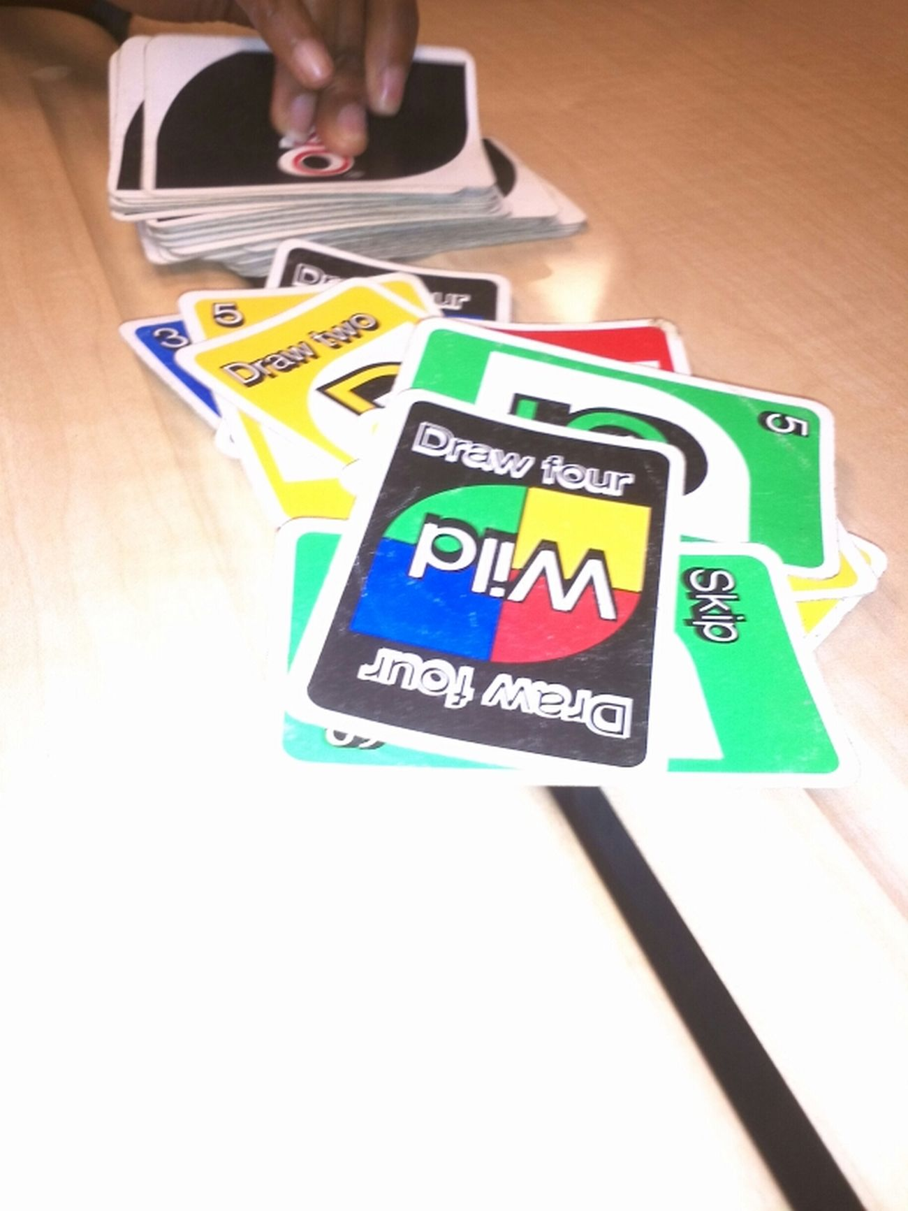 These Old Ahh Uno Cards Lol First Generation .(in Mrs Davis Class)