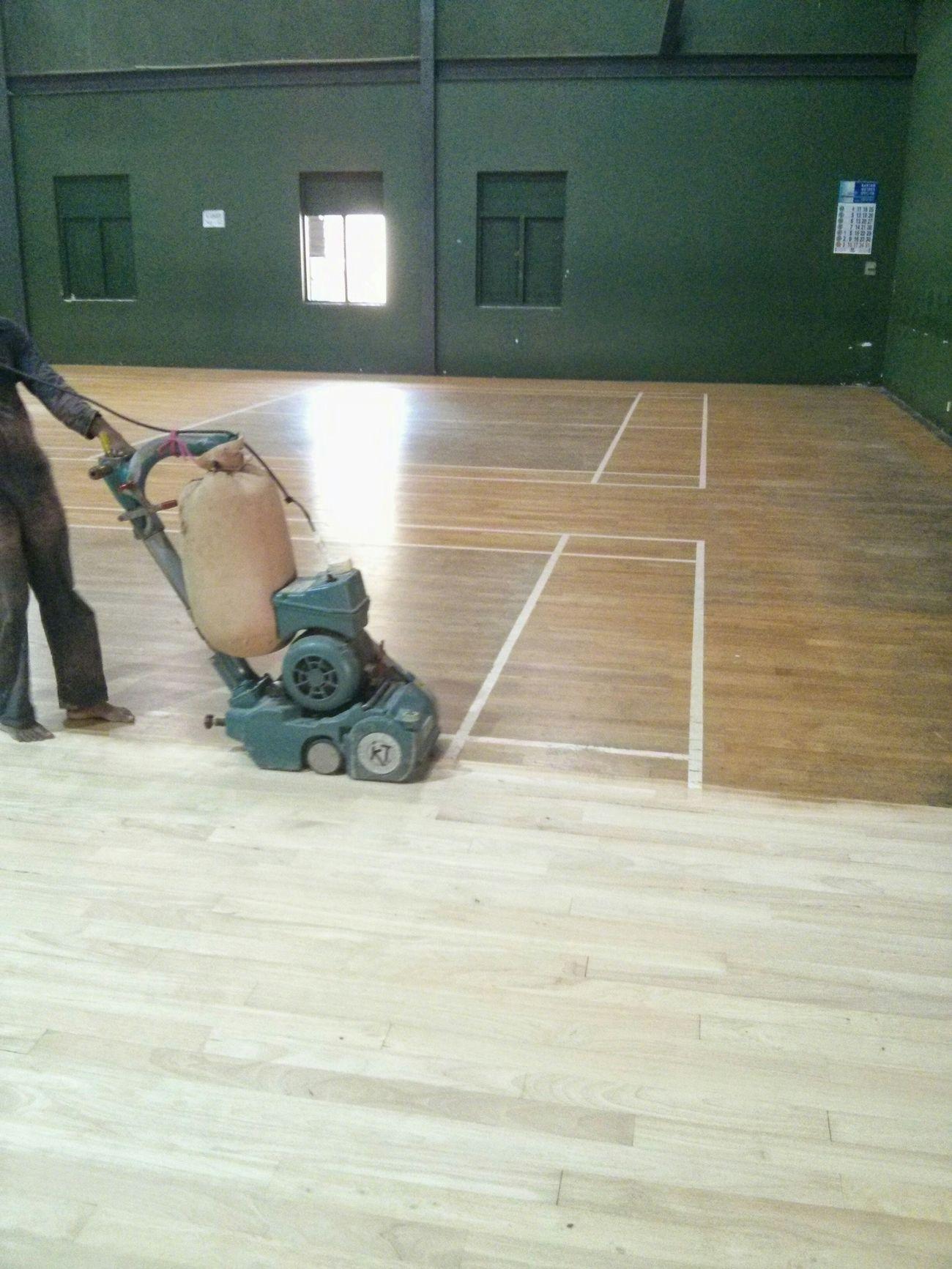 Renowation of badminton cort.. The Purist (no Edit, No Filter) Flooring Nexus4 Taking Photos Wooden Floor