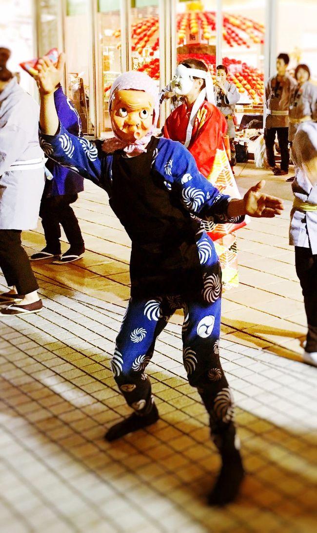 Festival Funny 大國魂神社 くらやみ祭り Japanese Culture Tokyo Japan お囃子