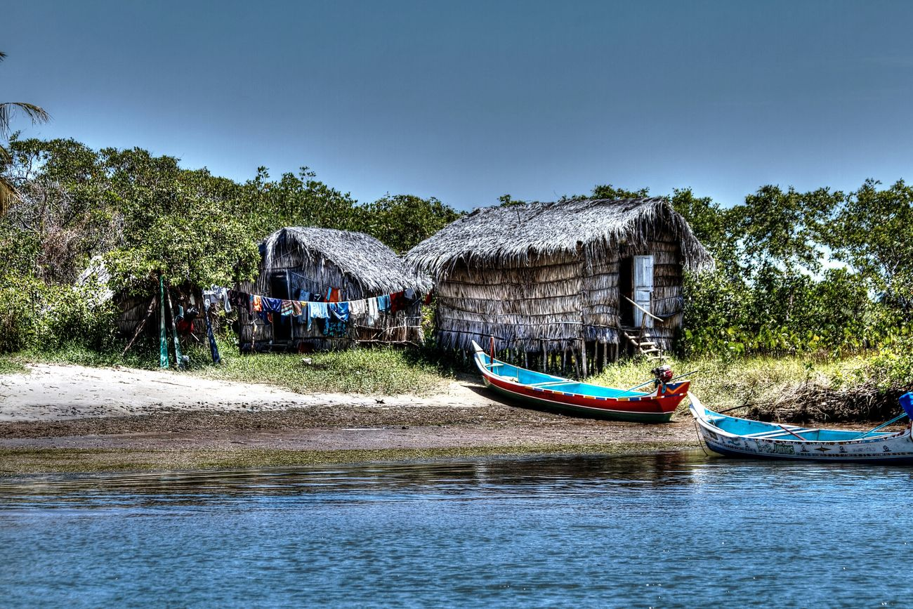 São francisco River-Brazil River Rio Sao Francisco Old House House Old Brazil Ancient Artist Beatiful