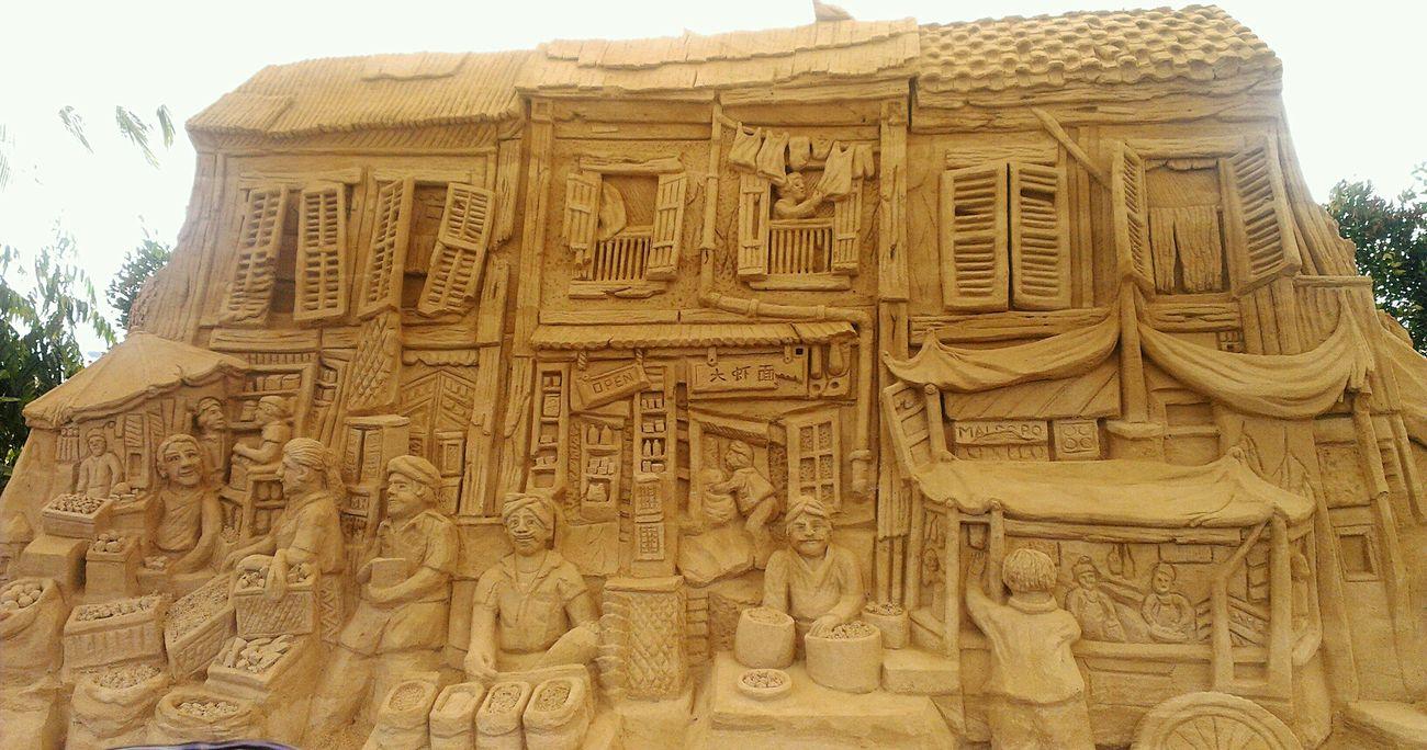 Sandsculpture at Siloso Beach Sg50