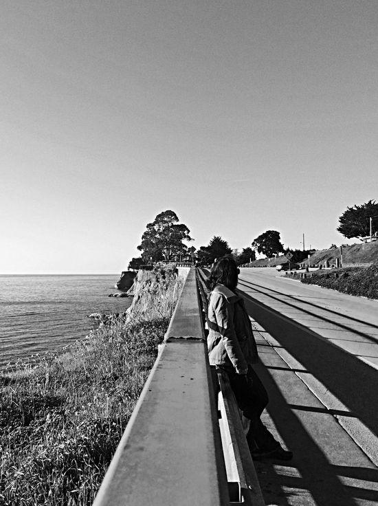 Vanishing Point Village Life east cliff morning walk Sunshine