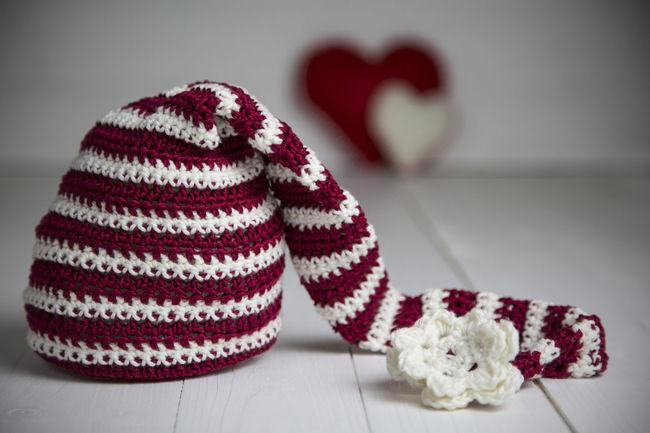 Baby Christmas Decoration Elf Flower Hearts Helper Holyday Little Red Santa Santa Claus Top Wood Wool Xmas