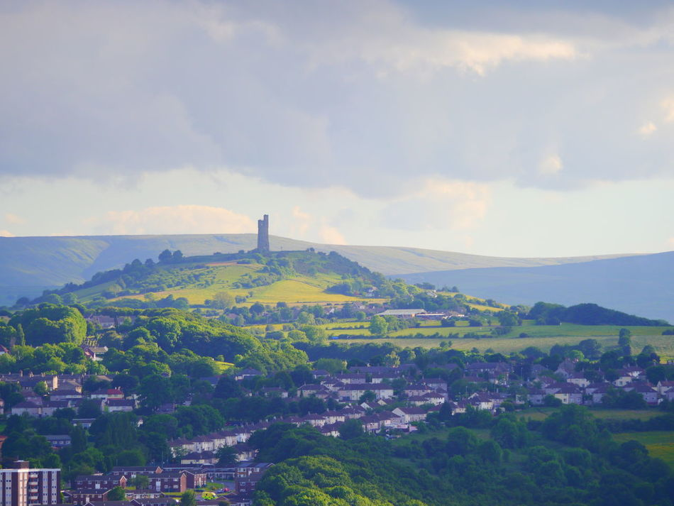 Architecture Beauty In Nature Building Exterior Built Structure Castle Hill Castle Hill, Huddersfield  Day Huddersfield June June 2017 Landscape Nature No People Outdoors Sky Victoria Tower