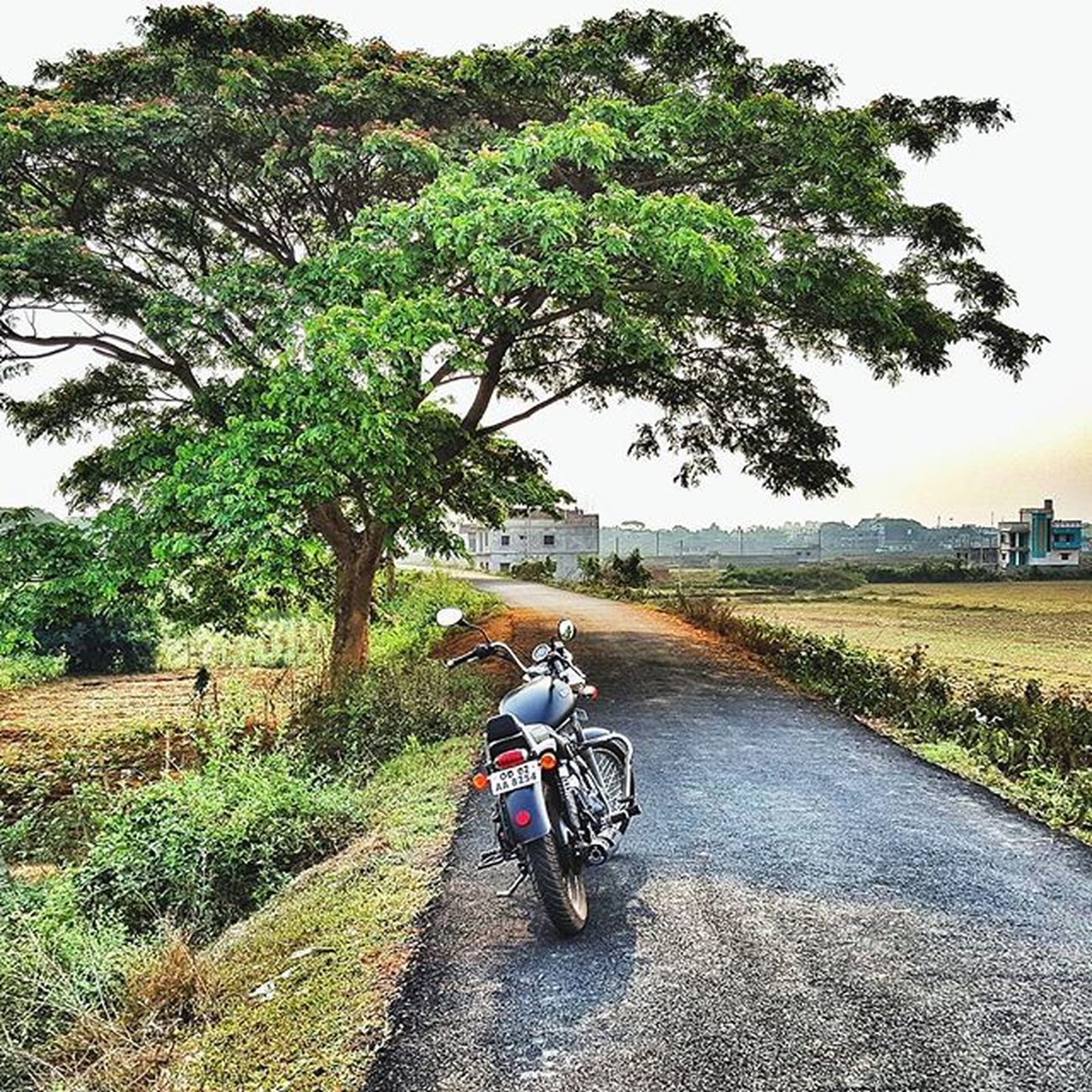 The roads are always there for us to find and explore :) Win SmallJoys Royalenfieldbeasts SundayMorningRide Thunderbird Travel Samsung S6 Mobilephotography