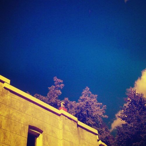 bluest IGDaily HamOnt Htc1x Lockestfest Architecture Clouds Nature City Sky Trees Blue Building