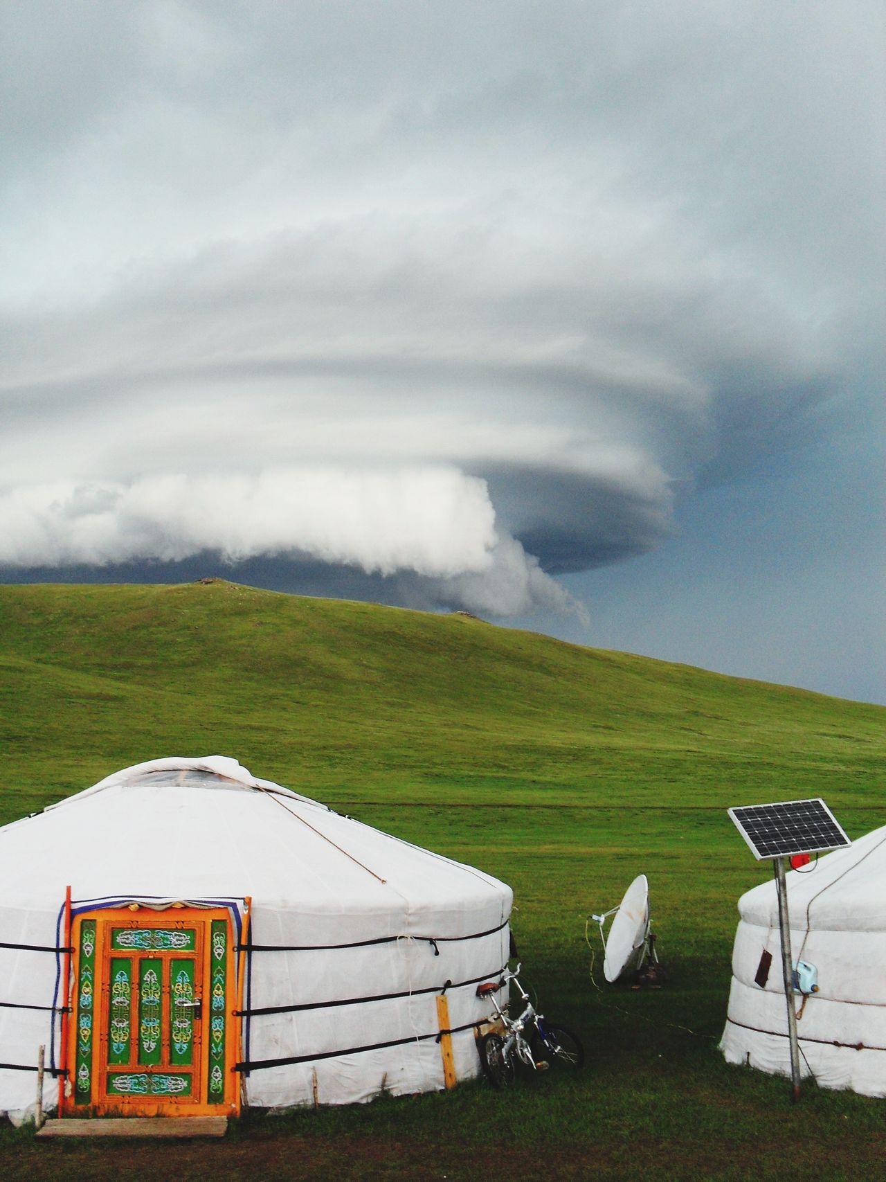 Beautiful stock photos of tornado, cloud - sky, sky, field, nature
