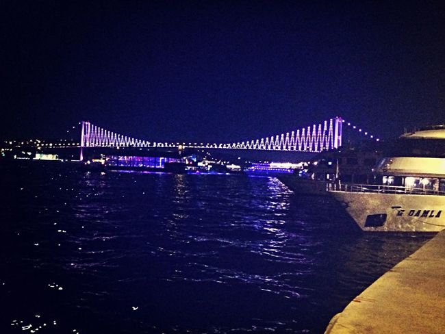 Bosphorus Night Sea View Relaxing