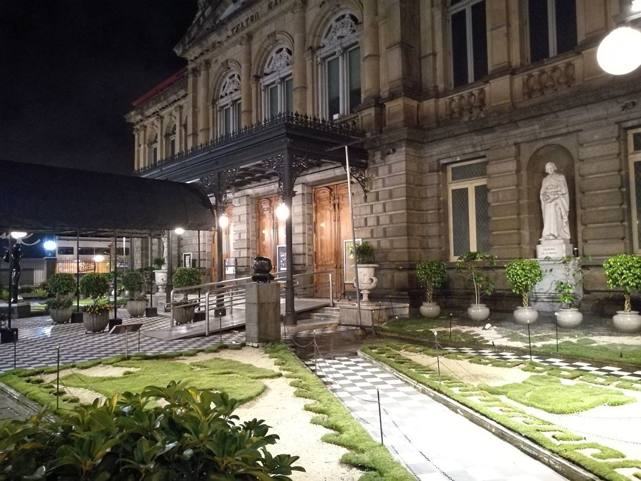 Architecture Night City Illuminated Building Exterior Outdoors No People Facade Building Facadelovers Facades And Light Outdoors Photograpghy  Theatre Of Opera And Ballet Night Photography Concert Hall  No Filter, No Edit, Just Photography Business Finance And Industry Tourism City Travel Destinations Night View Night Lights Architecture Teatro Nacional National Theater at San Jose, Costa Rica