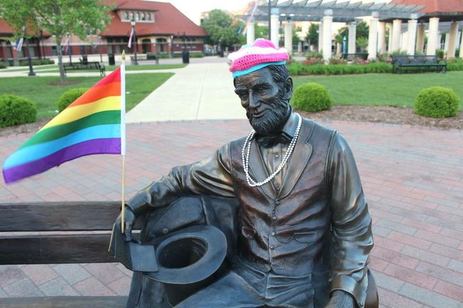 Bae Lincoln // Trans Transgender Transgenderpride Gay Gay Pride Pride Abe Abe Lincoln Abraham Lincoln President
