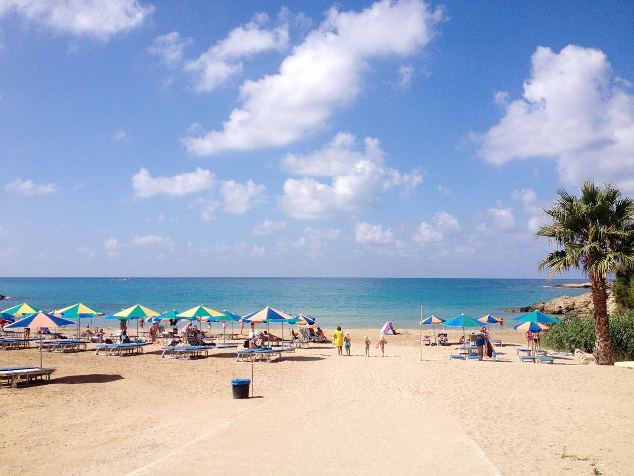 Beach. Beach Sea Sky Sand Water Cloud - Sky Shore Beauty In Nature Holiday Cyprus Summer July Coral Bay Phoyography Paphos Cyprus Paphos