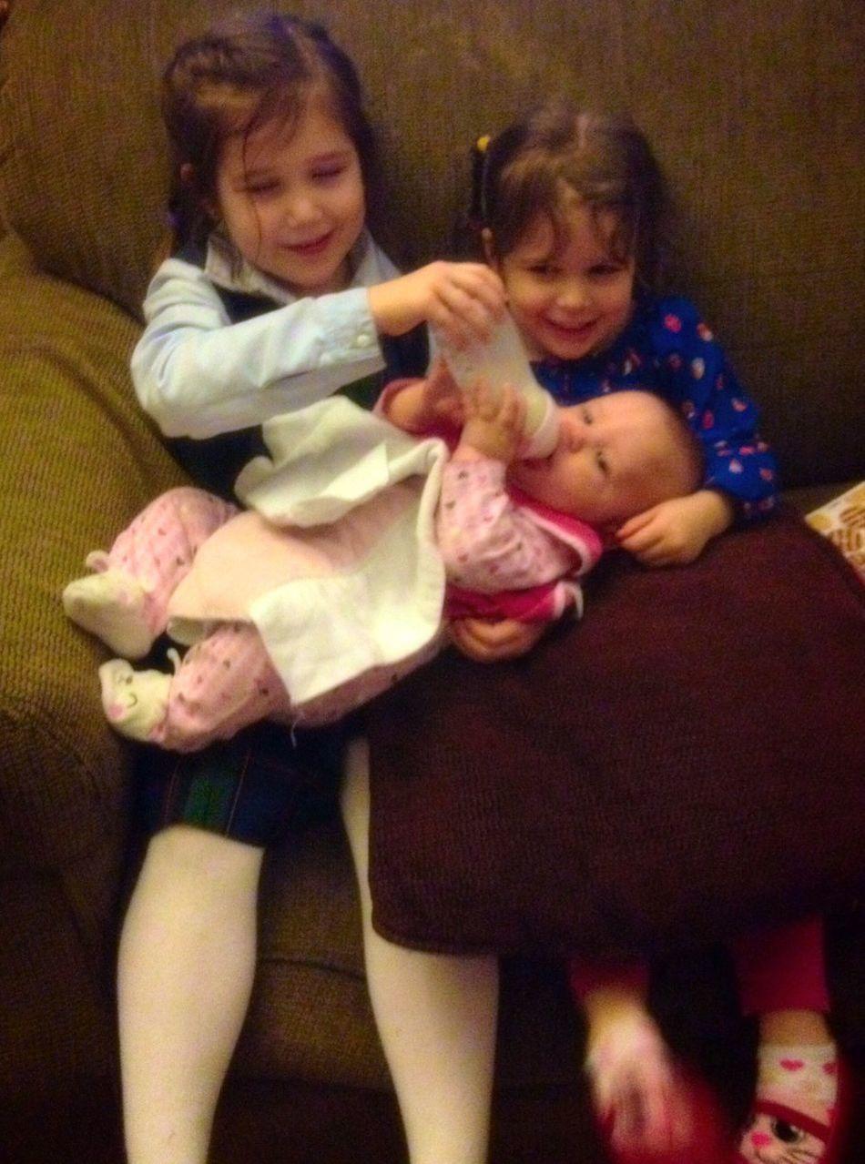 Cousin love! Cousins  Babygirl Nieces Gwennie Goose