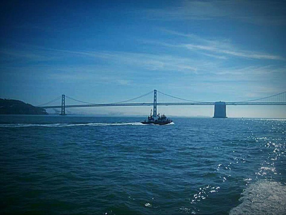 Boats⛵️ My Photography Tourist Attraction  Water San Francisco Bay This Week On Eyeem My Point Of View San Francico Bridge Porn Original Bay Bridge
