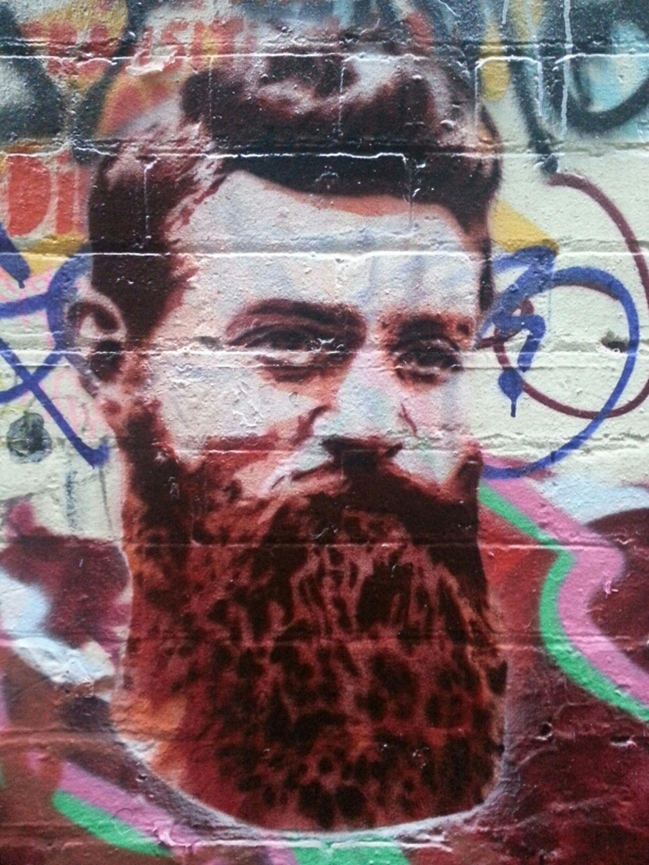 Graffiti Streetart Stencil Ha-ha