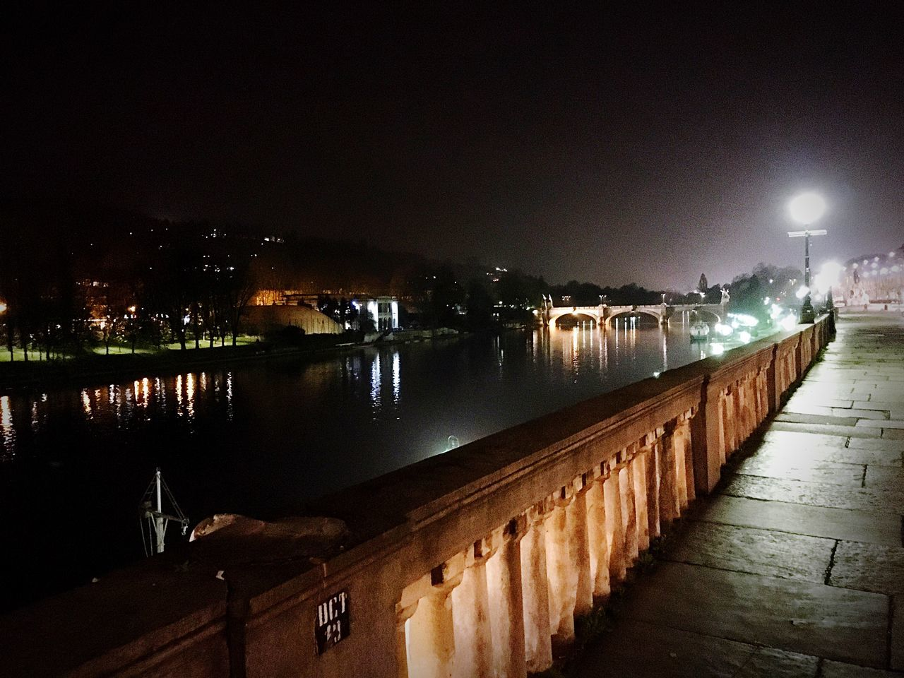 Lungo Po in Turin Turin Turin Italy Torino Italy Italia Po Fiume Po Fiume FiumePo City Urban Urban Landscape Landscape Night Nightphotography Night Lights Landmark Landmarks Dark Darkness And Light Bridge Bridge - Man Made Structure Streetlights Streetlamp Night Landscape