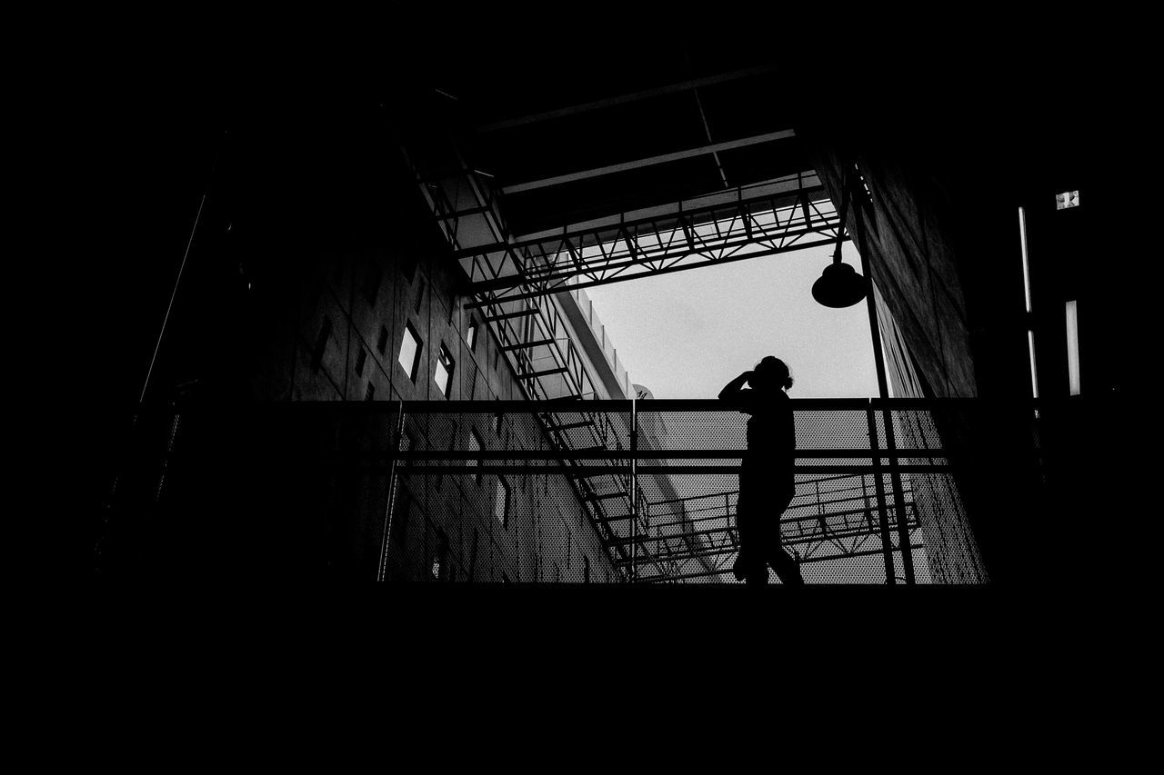 The Street Photographer - 2016 EyeEm Awards Street Photography Architecture Silhouette Black And City City Life Siam Bangkok Thailand Industrial Contrast Shadow