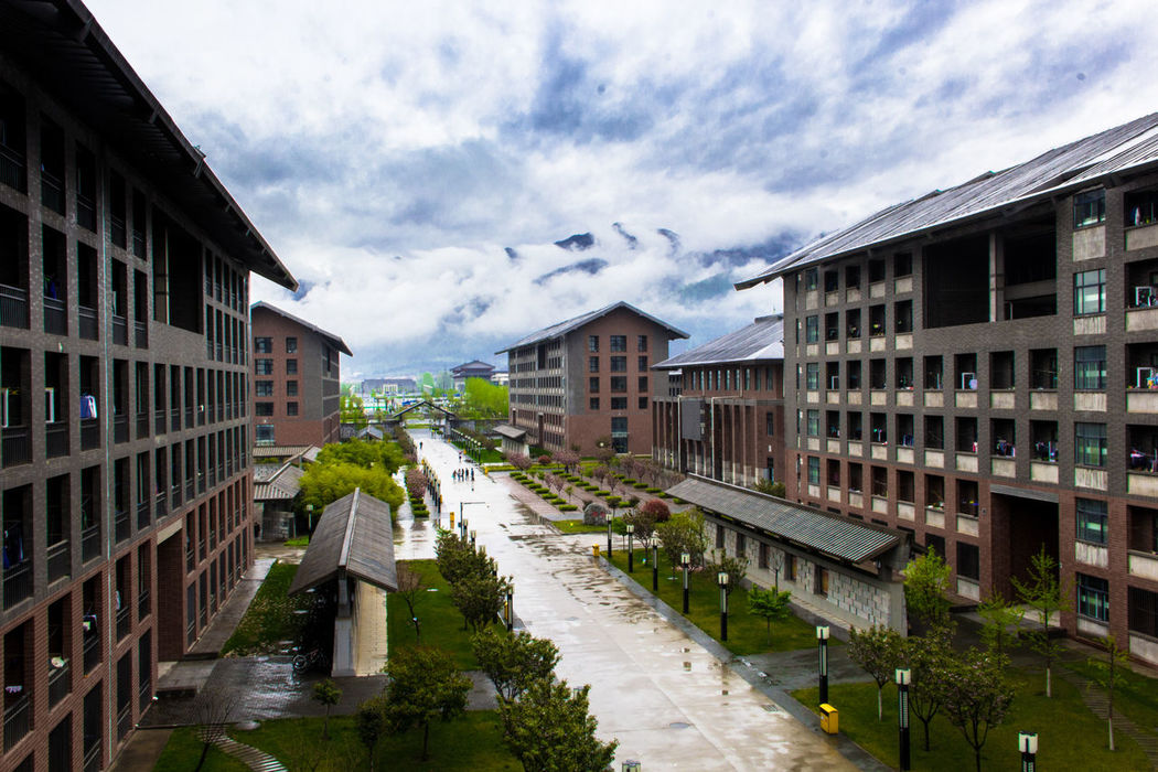 Cloud - Sky Nature 秦岭 Outdoors Day Sky Beauty In Nature Building Exterior