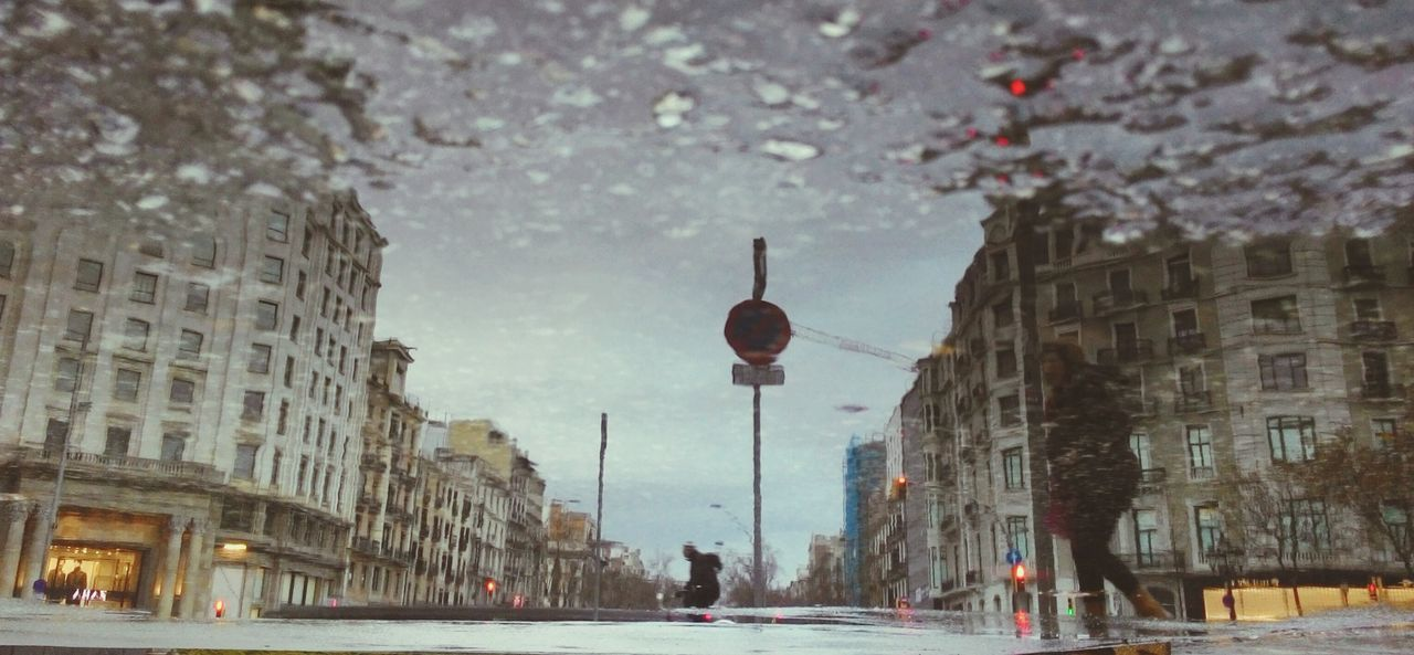 Reflections In The Water Reflection Reflejos En El Agua Reflejo Reflejos Rainny Day Rain Rain Drops Lluvia Charcos Barcelona Bcn Paseo De Gracia, Barcelona The City Light