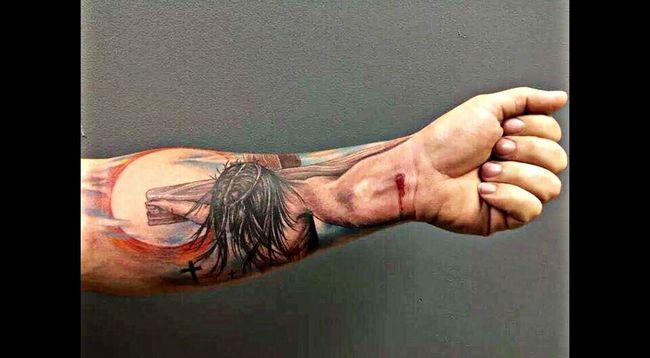 Brutal Gesù  Jesus Tatoo Tattoo Tatoo Art
