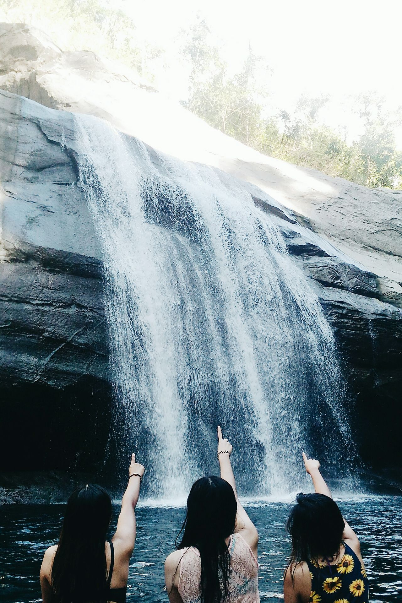 We want to dive that cliff 💦 Hanging OutAdventure Club Hello World Enjoying Life Tangadanfalls Falls Wanderlust Adventure Buddies First Eyeem Photo