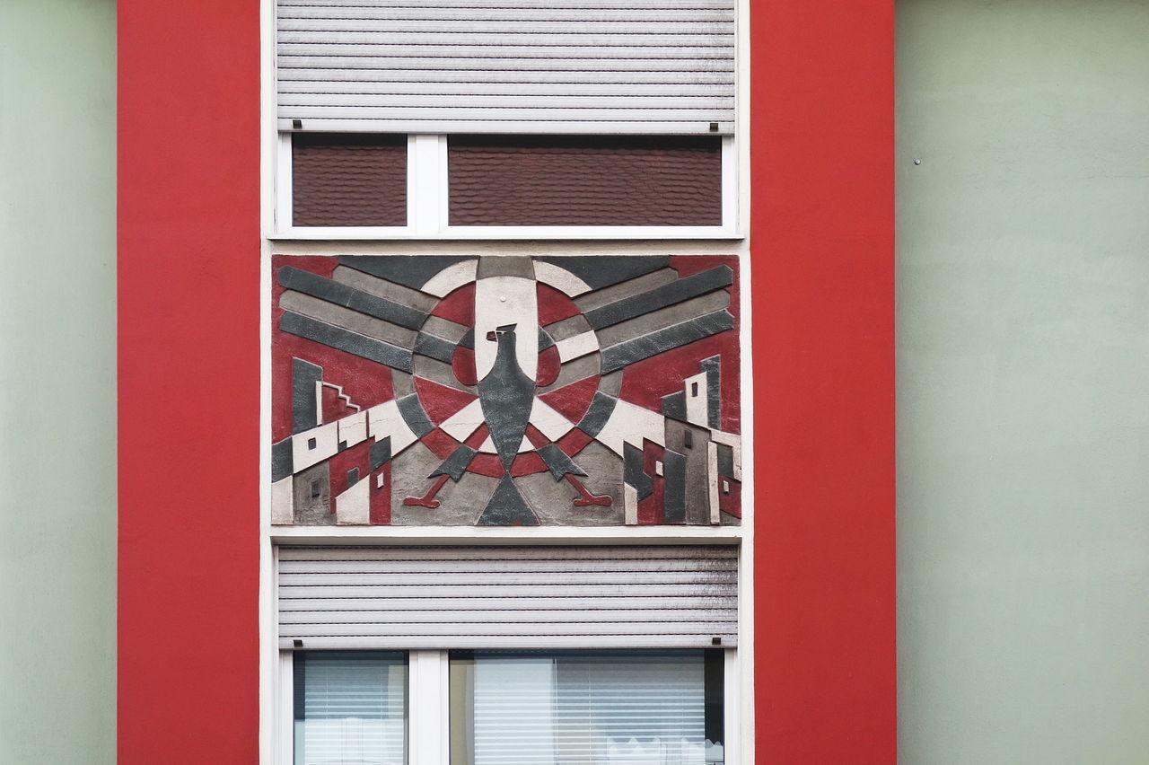 Architecture Art Deco Building Exterior Built Structure Façade No People Red Window