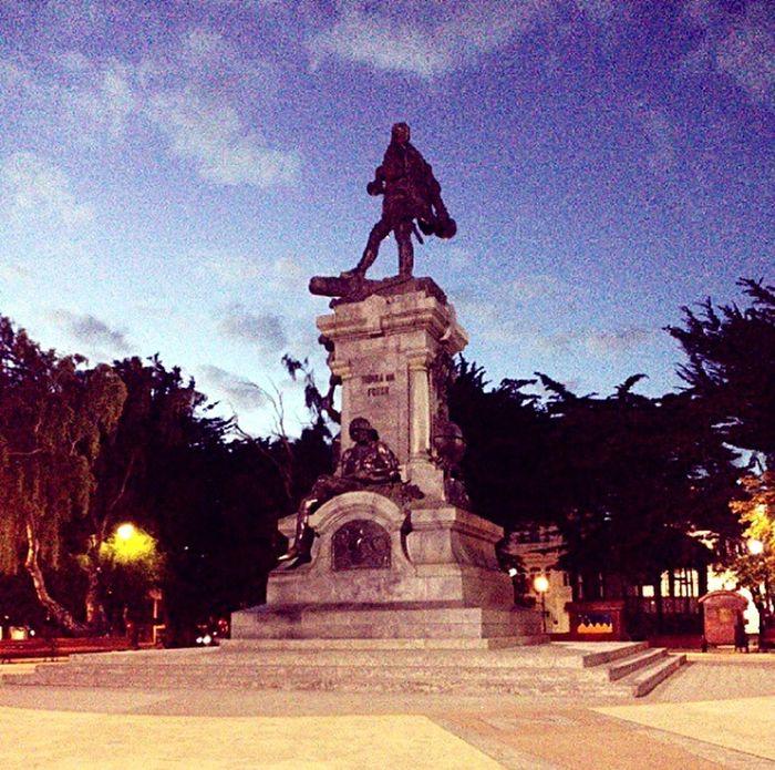 Plaza, muñoz gamero, Punta Arenas - Chile 🙏✴