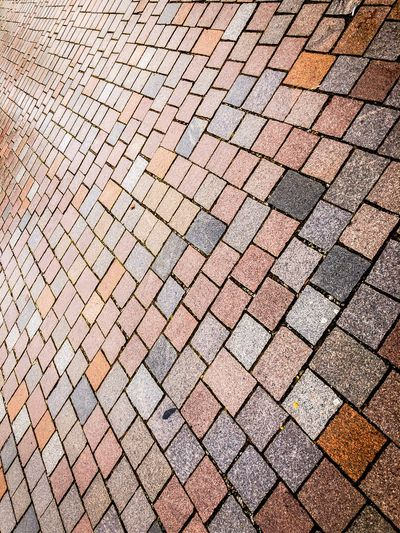 Tetris ▪️▫️▪️ Potsdam Converging Geometric Shotoniphonex Stones Mosaic Tiles Full Frame Backgrounds Pattern Textured  No People Day Outdoors Close-up
