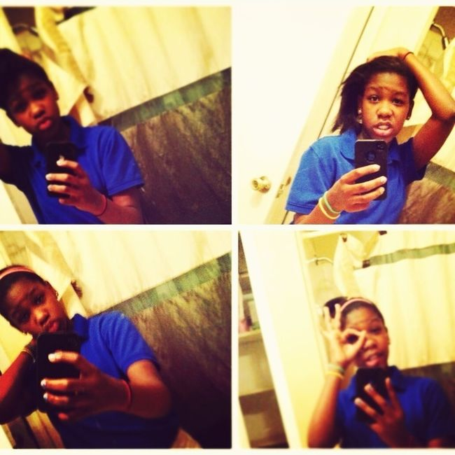 When In The Mirror Too Long,! Lol