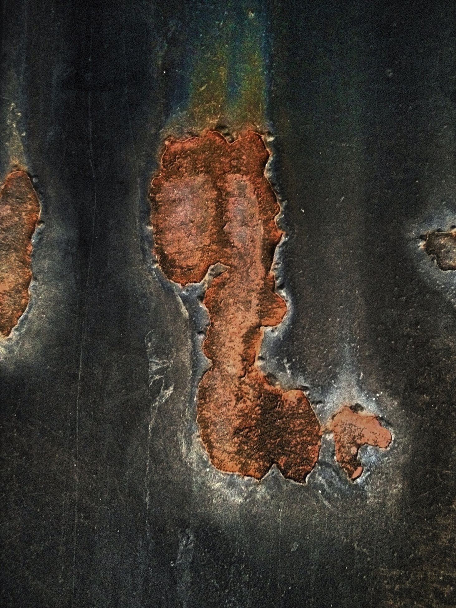 textured, close-up, rough, full frame, backgrounds, high angle view, weathered, no people, pattern, outdoors, brown, deterioration, night, damaged, natural pattern, old, nature, rusty, abstract