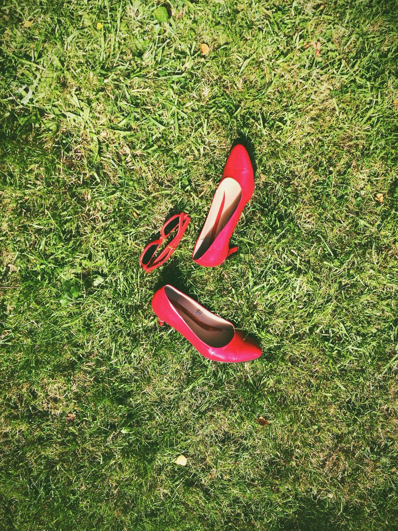 Summer's here! Enjoying Life A Beautiful Day Grass Red Shoes