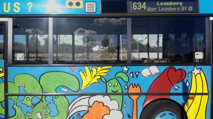 Bus ArtWork Painted Car Painted Bus Workart Artwork Bus Bus Sketch Public Transportation Graffiti Kunst Kunstwerk Kunstwerk Bus Leonberg Weissach Germany Deutschland Strassenverkehr Stadtverkehr Stadtbus
