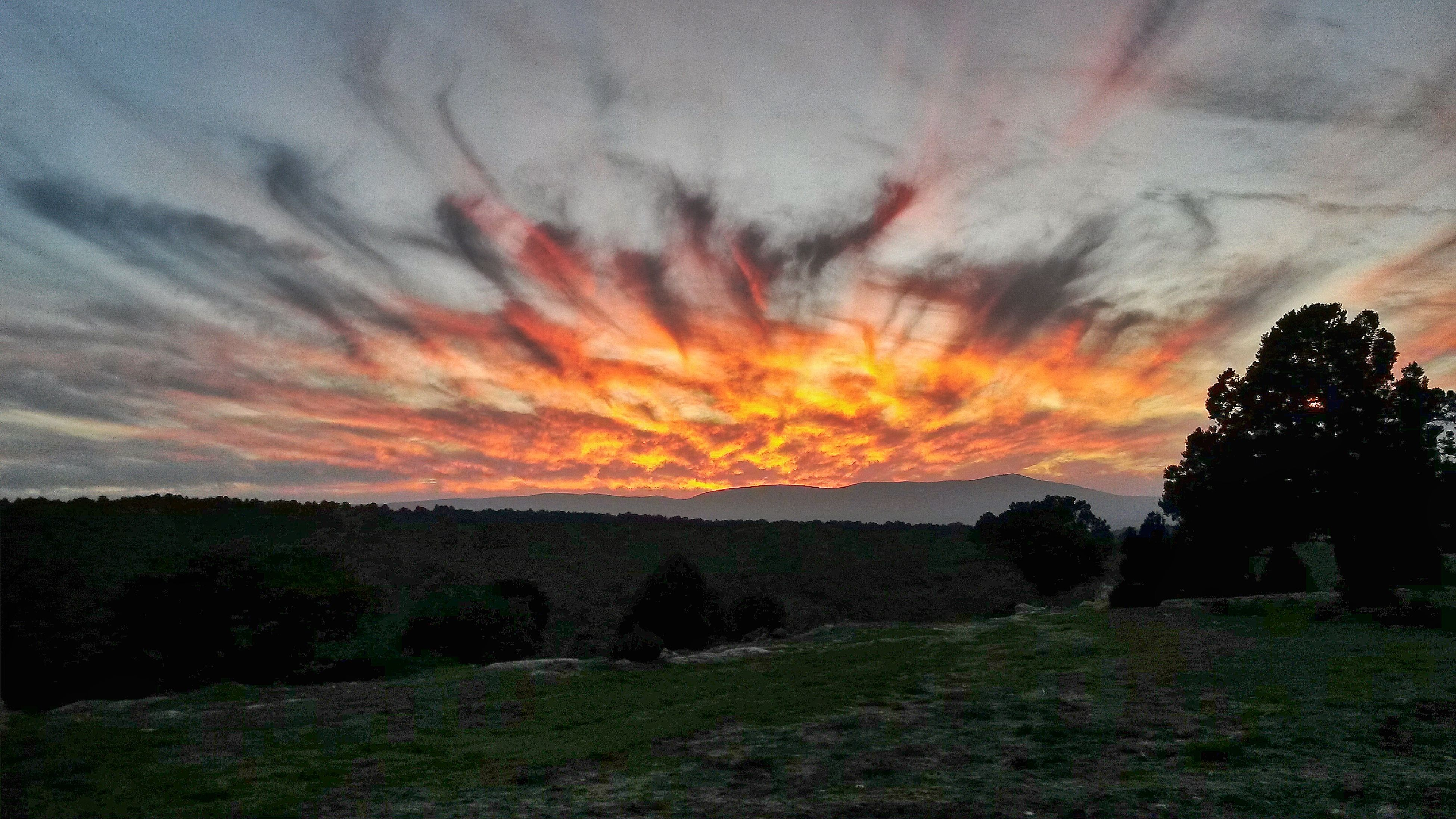 Sunset Eskişehir Sky And Clouds Amazing View