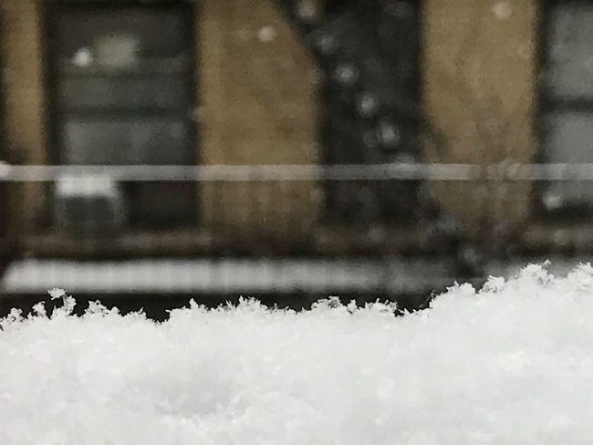 Winter Cold Temperature Snow NYC USA