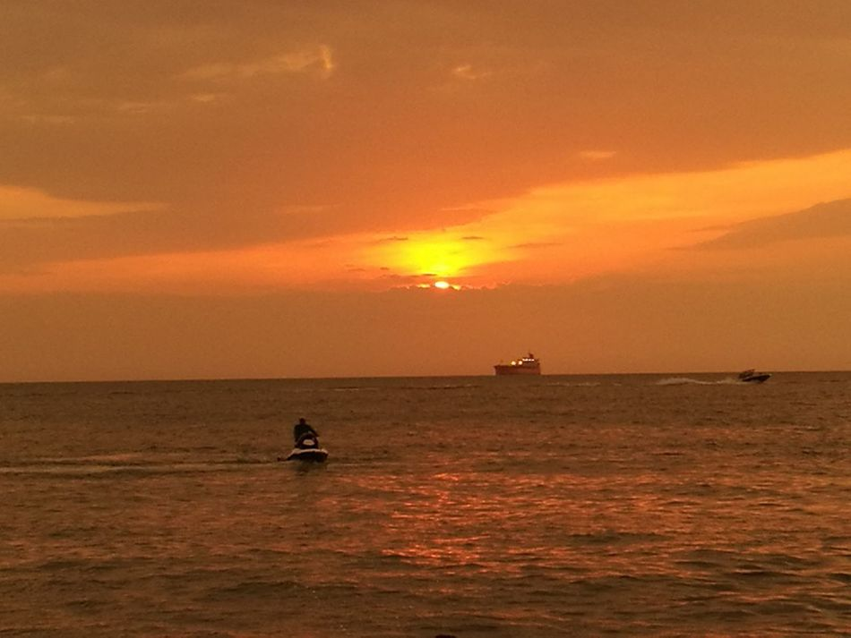 Santa marta colombia Sunset Sea Sun Nautical Vessel Dramatic Sky Dusk Red Cloud - Sky Water Silhouette Fishing Vacations Horizon Over Water Gold Colored Nature Outdoors No People Sky Refraction Wave