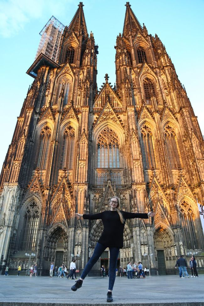 Mary My Daughter My Daughter ♥ Cologne Germany Girl Young Adult Architecture Architecture Gothic Sightseeing Historical Building City Outdoors Travel Photography Traveling Wonderful Beautiful Canonphotography Canon Looking At Camera