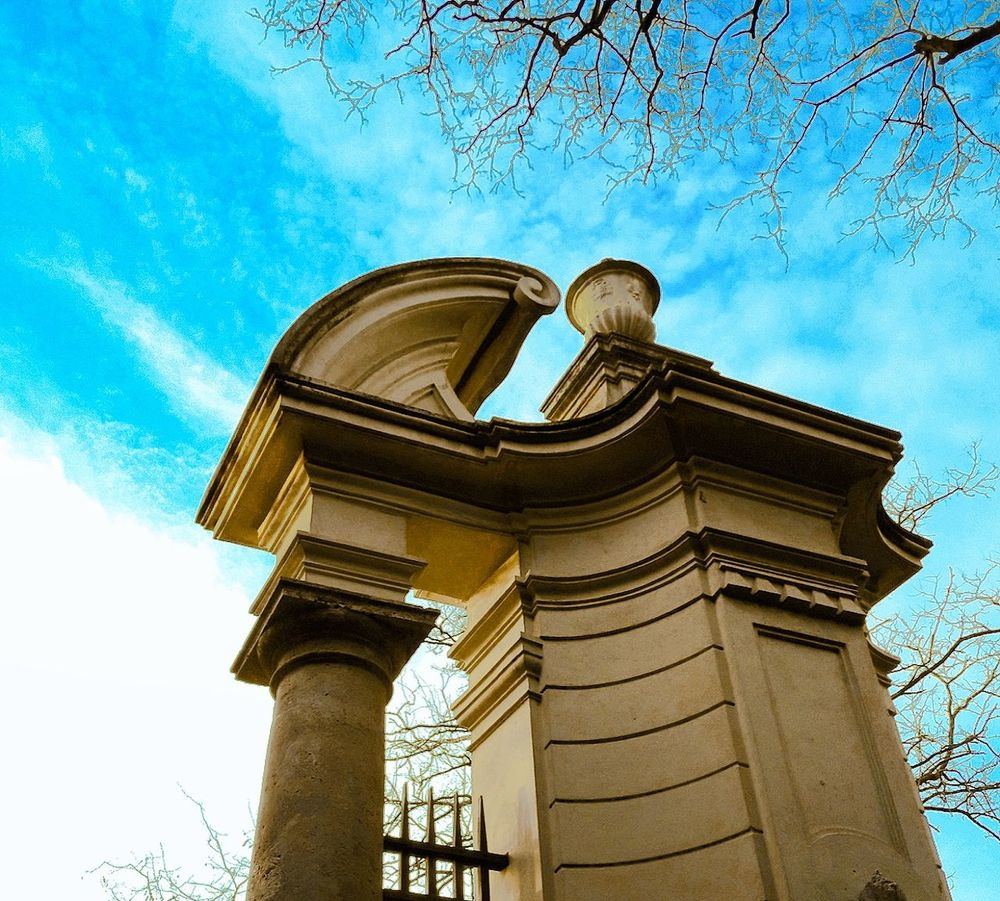 Architecture Sky Blue Built Structure Building Exterior Travel Destinations Low Angle View Cloud - Sky Outdoors Day No People City ıtalia Roma VillaPamphilj Villapamphili Villa Pamphili Villa Pamphilj Rome Rome Italy🇮🇹 Italy 🇮🇹 Italy. Italie Roma Caput Mundi Rome, Italy