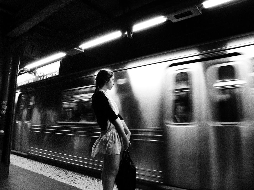 lonely beauty New York Fascinating Stranger Girl My Best Photo 2014 Notes From The Underground Oldpicture Tadaa Community EloediLo Astoria, Queens
