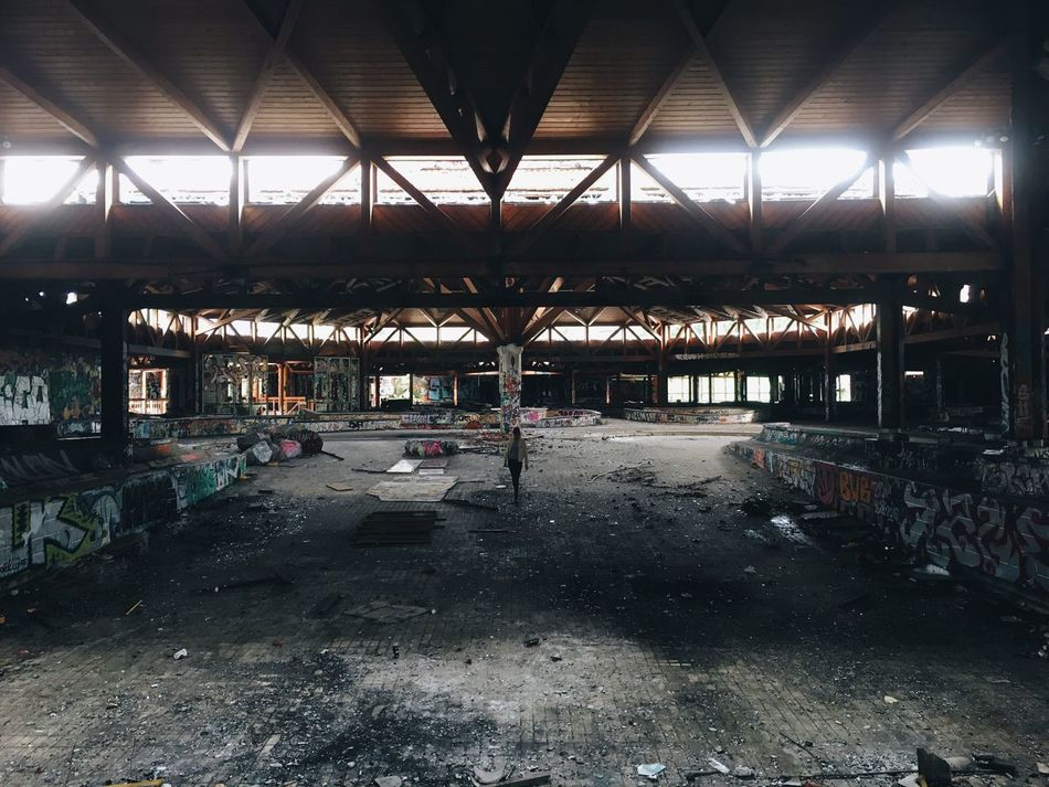 Abandoned Obsolete Built Structure Factory Indoors  Industry No People Interior Architecture Day Metal Industry