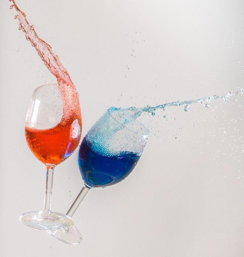 Splash Stopactionphotographer Highspeedphotography Splash Wineglass