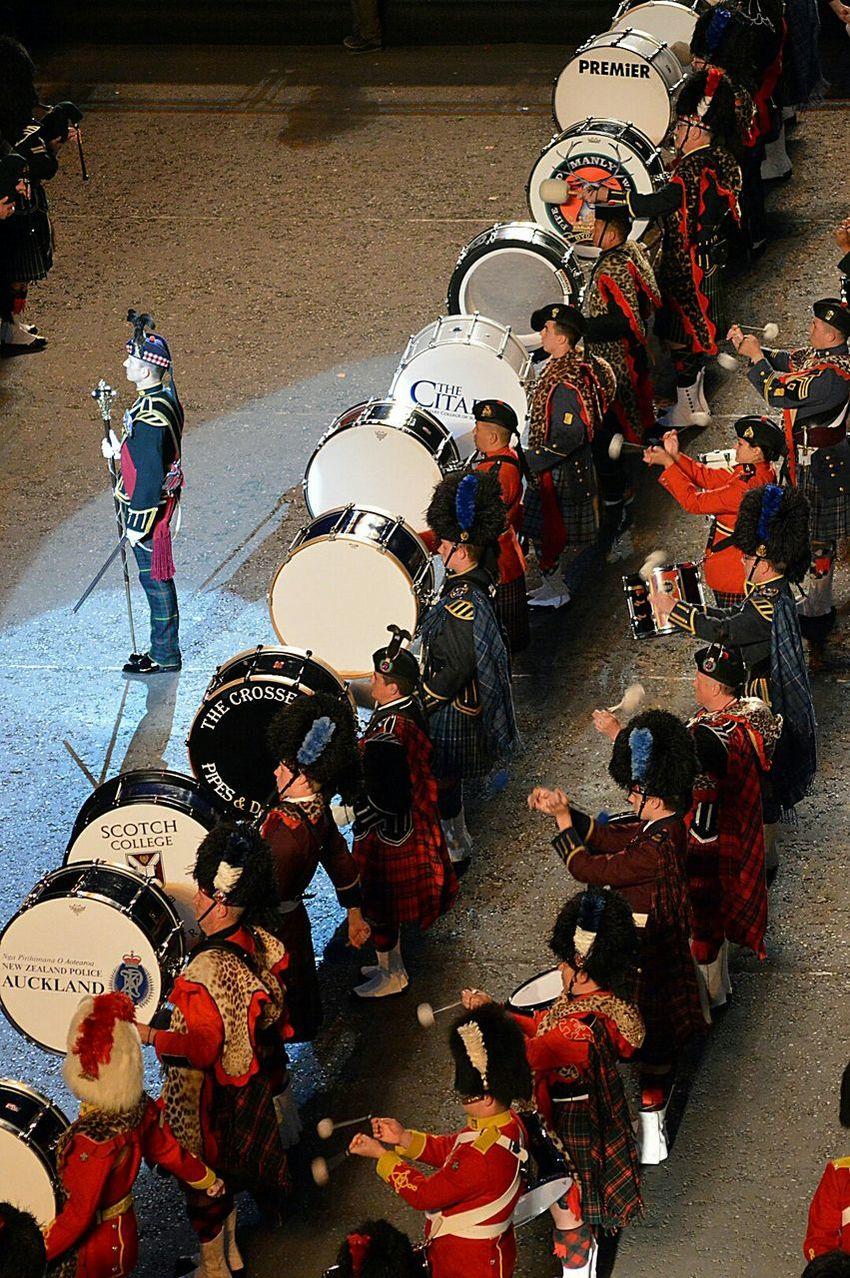 EdinburghTattoo Drums Military Militaryband Massedbands Edinburgh military tattoo