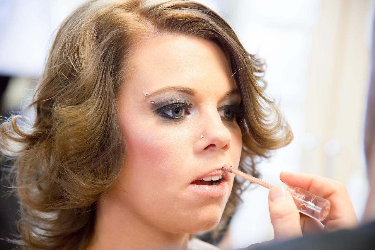 Beautiful stock photos of body piercing,  30-34 Years,  Applying,  Beautiful Woman,  Beauty