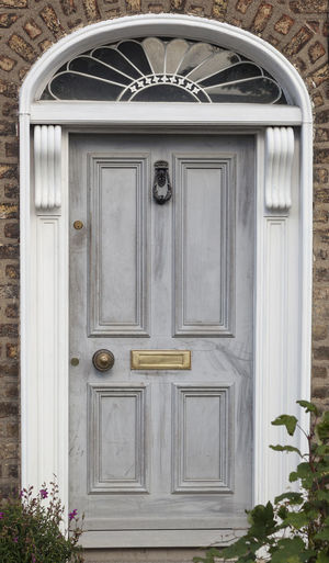 Dublin Individuality Ireland Old Fashioned Resistance  Wood Architecture Building Exterior Civil Day District Door English Entrance Entry Gregorian Grey Historical Law Medieval Neighborhood No People Outdoors Series