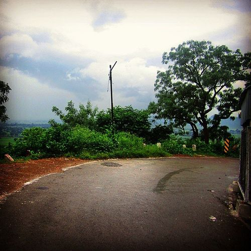 Find joy in the journey. Hill Vacantroad Trees Plants Green Pole Travel Traveller Wanderlust NOMAD Journey Walk Height Skyporn Adventure Turn Maihar Temple Serene Lull Beauty Incredibleindia Indiatravelgram Morning Scene cloudynaturenaturelover explorerinstagrammer