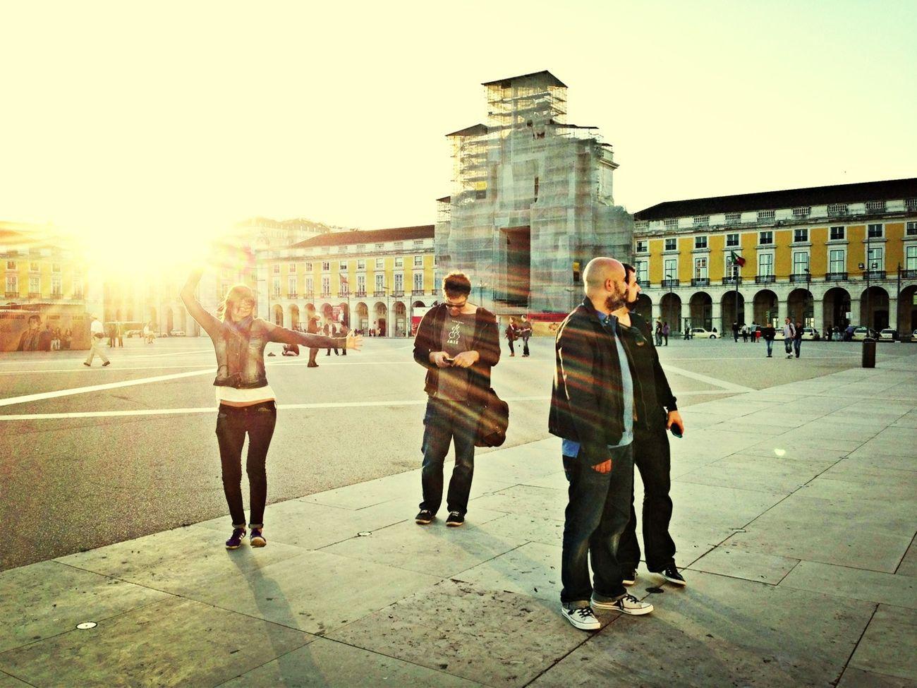 Sunset Chasing Light EyeEm Lisbon Masterclass 2013