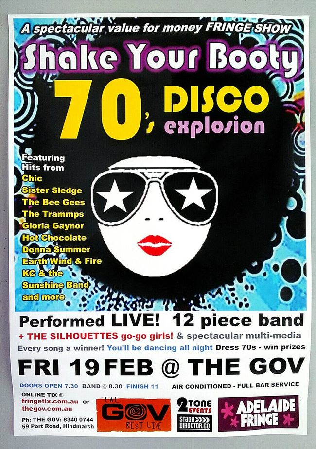 Shake Your Booty The 70's Poster Poster Collection Posters Check This Out Disco Notice Adelaide Fringe Live Show Posterart The Gov Disco Explosion 1970s Disco Fever 1970's 1970s Inspired Nineteen Seventy Poster Art The 1970's Stars In My Eyes 1970 Discoteque Disco Music Poster Wall