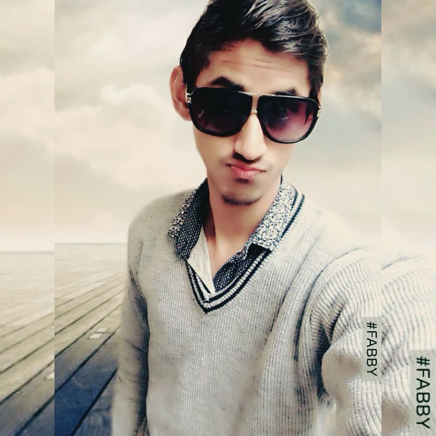 EyeEm Selects Sunglasses Young Adult One Person Portrait Cloud - Sky Outdoors Sky Day Front View India Officialakaushal Looking At Camera EyeEm Best Shots Well-dressed Awesome EyeEmNewHere