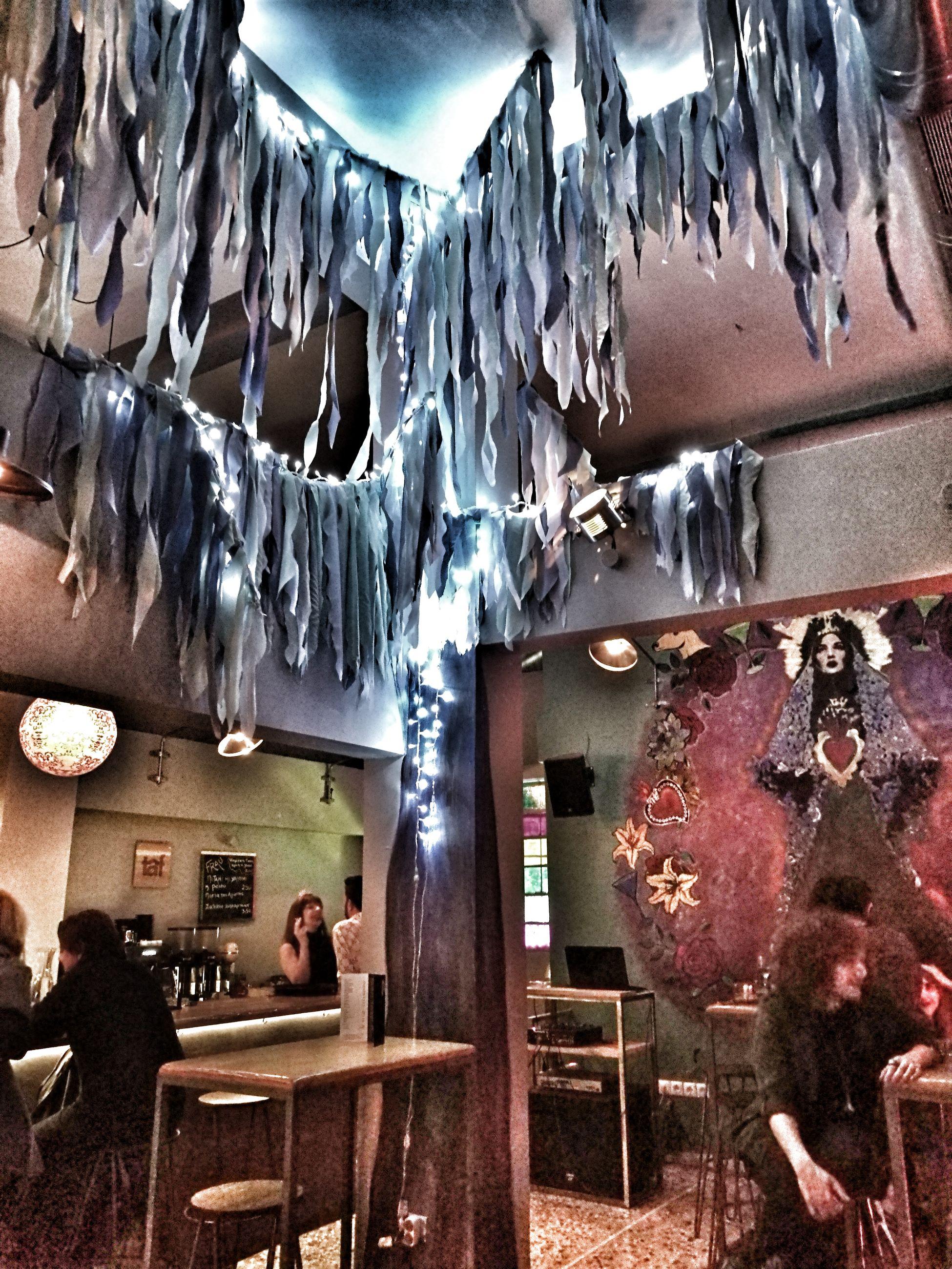 Cold Temperature Nightmarebeforechristmas Frau Fraubar Bar Night Athens